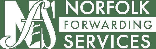 Norfolk Forwarding Services White Logo